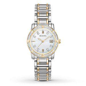 SALE! Bulova Women's Diamond Accents 26mm Watch